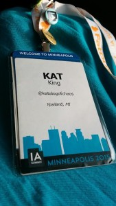 Badge from IAS 2015